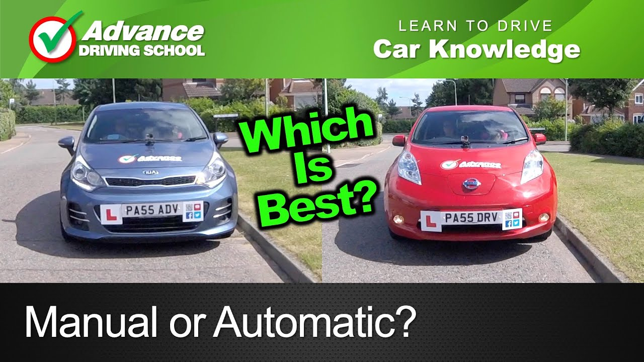 manual or automatic learning to drive car tips youtube rh youtube com should i learn to drive automatic or manual should i learn to drive automatic or manual