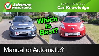 Manual or Automatic?  |  Learning to drive: Car Tips