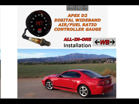 hqdefault apsx d2 digital wideband o2 air fuel ratio controller install apsx wideband wiring diagram at gsmx.co