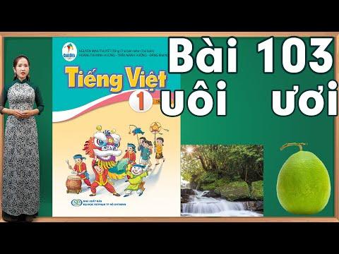 Tiếng việt lớp 1 sách cánh diều tập 2 - Bài 103|Bảng chữ cái tiếng việt |Danh van chu cai tieng viet