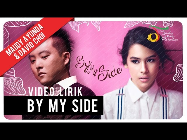 Maudy Ayunda & David Choi - By My Side | Official Lyric Video Travel Video