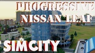 Simcity - Progressive Office Set & Nissan Leaf Charging Station DLC