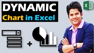Create Dynamic Charts in Excel || Using Drop Down List || Best Video In Hindi