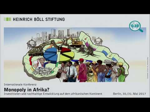 1st Conference Day: Monopoly in Africa?