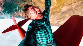 Falling off an Airplane...
