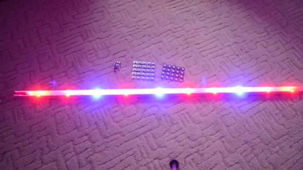 Cенсорный выключатель с диммером для LED ленты встраиваемый в .