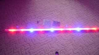 Светодиодный фито светильник для растений своими руками.(Собрал светодиодный светильник для растений (фито лампа). Использовал 7 3Вт диодов с длинной волны 660Нм, и..., 2015-02-15T09:54:21.000Z)