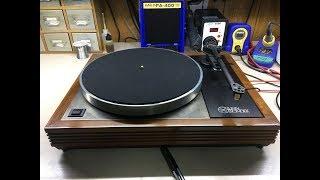 Fixing motor start and platter speed issues on Linn LP12 Turntable