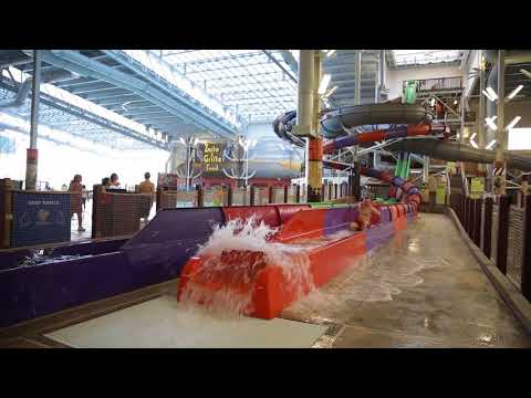 Poconos has the nation's biggest indoor water park: Kalahari Resorts and Conventions