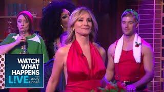 Sonja Morgan's Holiday-Themed Caburlesque! | RHONY | WWHL