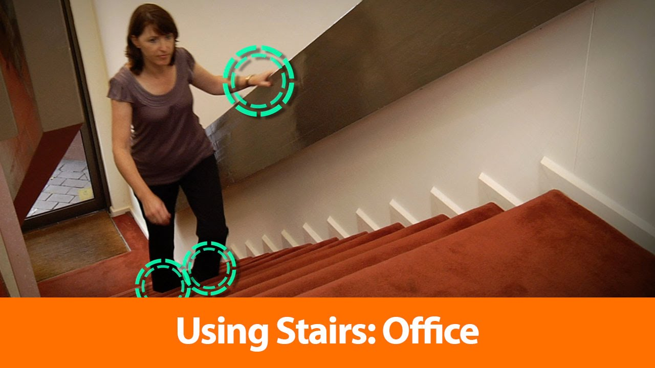 Etonnant Using Stairs: Office   OHS Safety Training Video