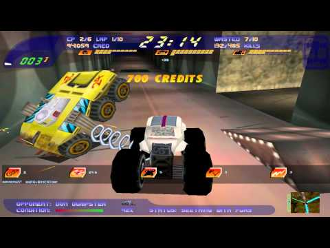 Carmageddon II - Group 10 - 01 Nuclear Arms Race [HD] (Stainless Games) (1998)
