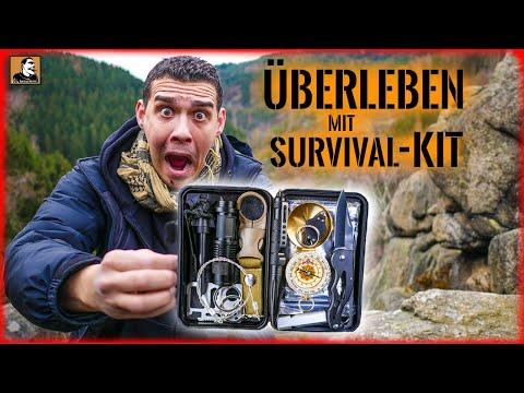 Mit 14€ Survival Kit 24H ÜBERLEBEN | Die GÜNSTIGSTE Ausrüstung im Internet | TEST | Survival Mattin