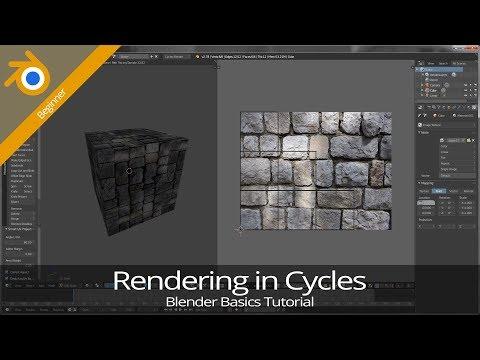Blender 2 7 Basics — Tutorial 10: Rendering in Cycles