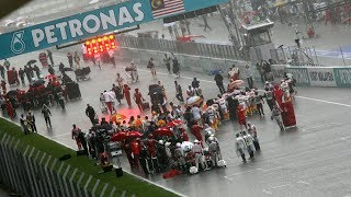 The Wettest F1 Race Ever? | 2009 Malaysian Grand Prix