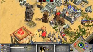 TheMista (Zeus) vs HellsRavage  (Isis) Game 2 - Age of Mythology The Titans