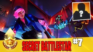 Secret Battle Star in Week 7 Location Guide in Fortnite // FREE Battle Pass Tier in Season 9