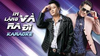 [KARAOKE] Im Lặng Và Ra Đi - Khánh Phương ft Anh Quân Idol | MV HD OFFICIAL