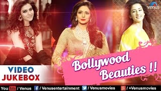 Bollywood Beauties : Kajol, Sridevi & Manisha ~ Best Hindi Songs || Video Jukebox