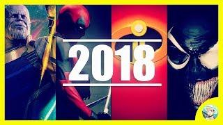 Películas de MARVEL y DC Comics en 2018   Películas Superhéroes
