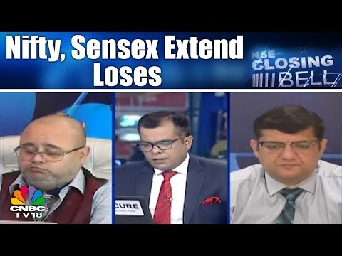 Closing Bell - 23rd May | Nifty, Sensex Extend Loses; Bears Still in Control | CNBC TV18