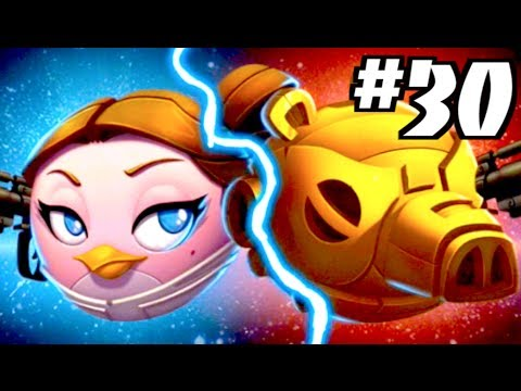 Angry Birds Star Wars 2: Levels P3-10, P3-11, P3-12, P3-13, P3-14 & P3-15 BATTLE OF NABOO: PORK SIDE - 동영상