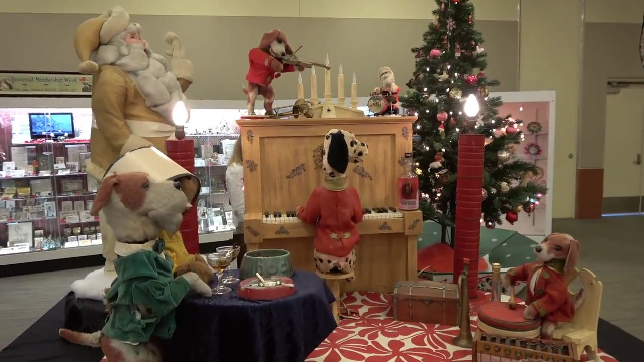 tour of christmas decorations at the golden glow of christmas past 2018 - Golden Glow Of Christmas Past