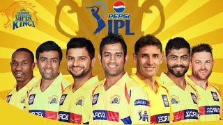 Vivo IPL 2018 |Chennai super Kings team squad 2018 | CSK Full and Final 20 players squad