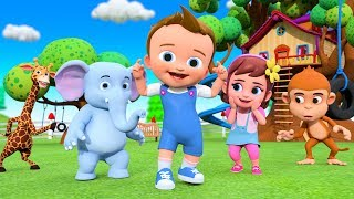 Head Shoulders Knees and Toes | Nursery Rhymes | Songs for Kids - Exercise Song for Kids