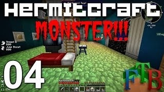Hermitcraft FTB Monster Ep. 4 - Smeltery Automation - Tinkers Construct