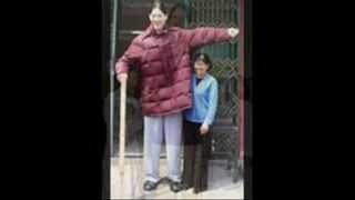 Tallest men & Women,On Earth. 12 feet tall soon-Guinness book of records