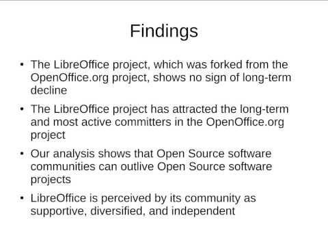 Sustainability of Open Source software communities beyond a fork