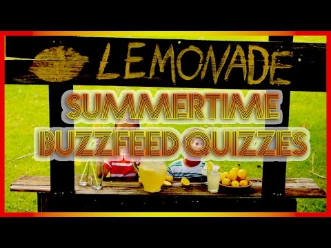 SUMMERTIME with MS. D20 (Buzz Feed Quizzes)