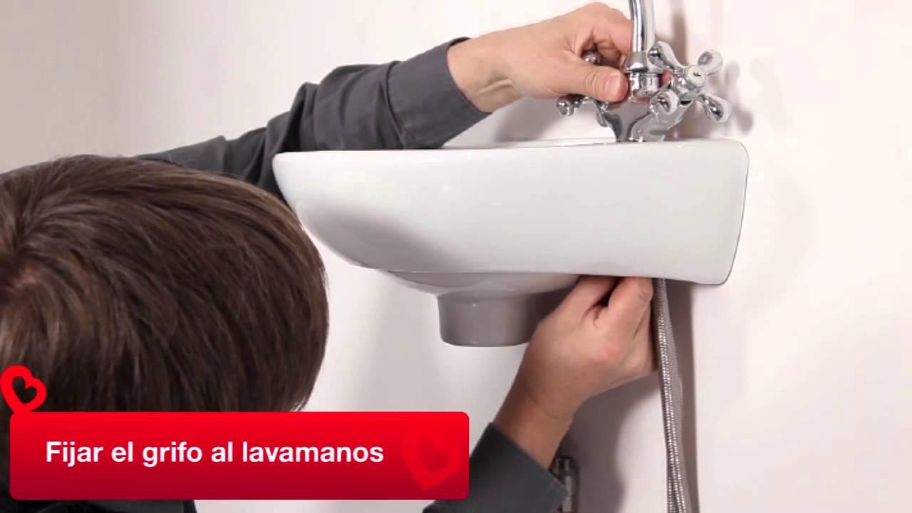 Instalar un lavamanos youtube - Grifos para lavamanos ...