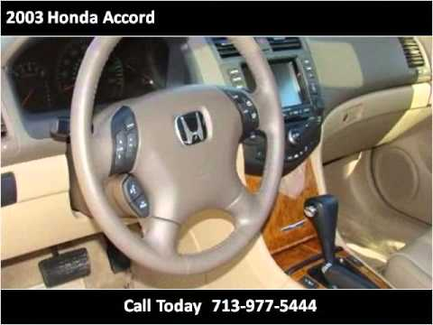 2003 Honda Accord available from Auto Plaza, Inc.