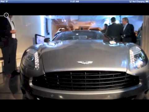 Aston Martin Magazine Youtube