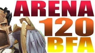 BFA level 120 Arena ft. MALDIVA | RET PALADIN PvP WoW 8.0