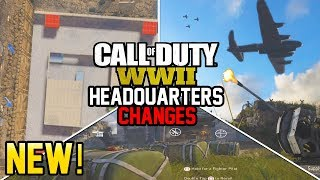 NEW HEADQUARTERS CHANGES! - EVENTS, ADDITIONS AND FUTURE EXPANSION! (Call of Duty WW2) thumbnail