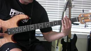 TOOL- Stinkfist Bass Cover (Hi Def w/Line in Bass)