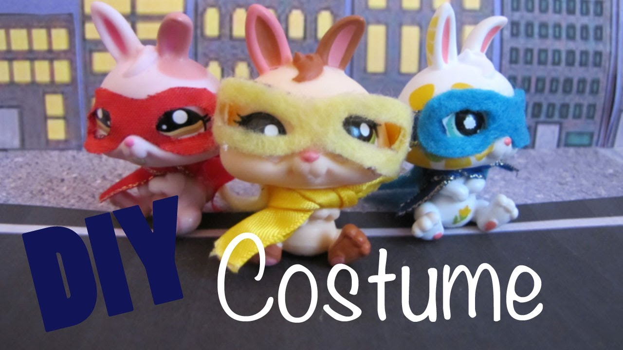 how to make lps halloween costumes