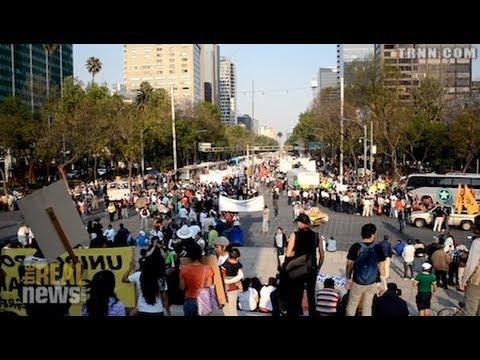 Mexican Farmers Protest The Entrance of GMO Corn