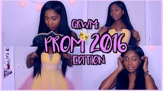 PROM 2016 Tutorial: Get Ready With Me ♡