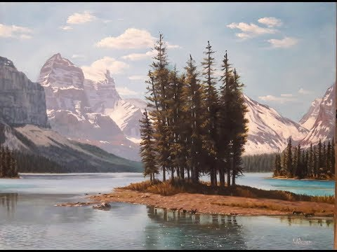 How to paint Landscapes - oil painting demonstration