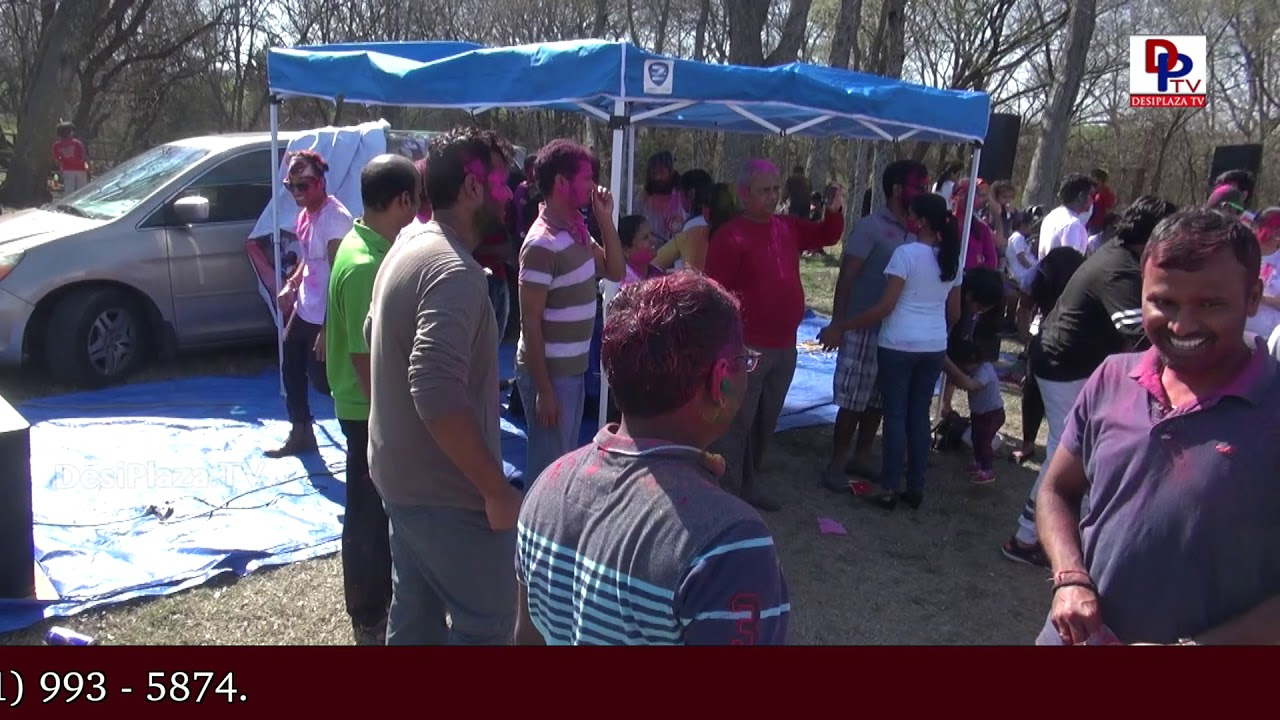 Visuals from Dallas Area Telangana Association (DATA) Holi Celebrations & Vanabojanalu | DesiplazaTV