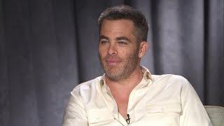 Chris Pine talks