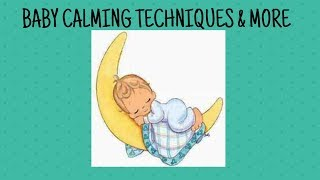 BABY CALMING AND POST PARTUM DEPRESSION TIPS