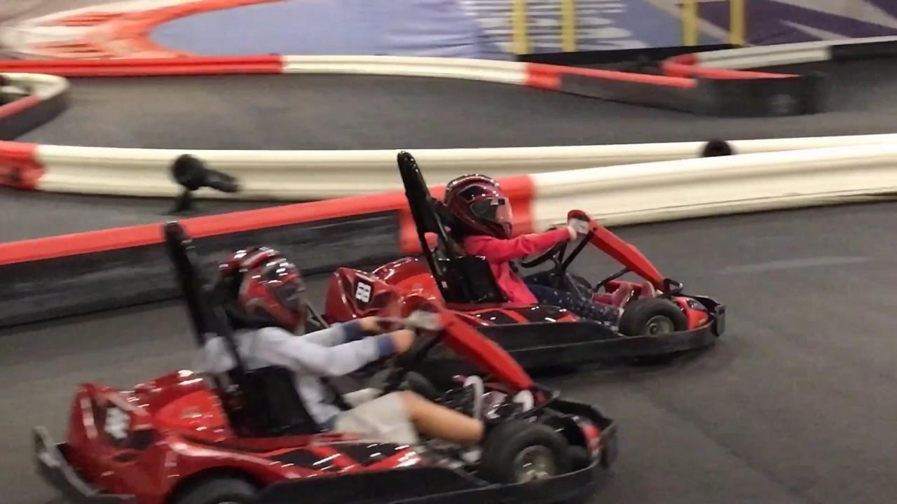 Kids Go-Kart racing - YouTube