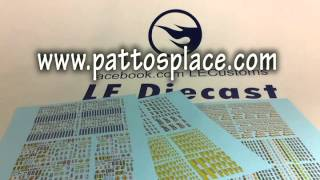 Episode 213 CAT 797F Dump Truck and Water Slide Decals from Pattos Place