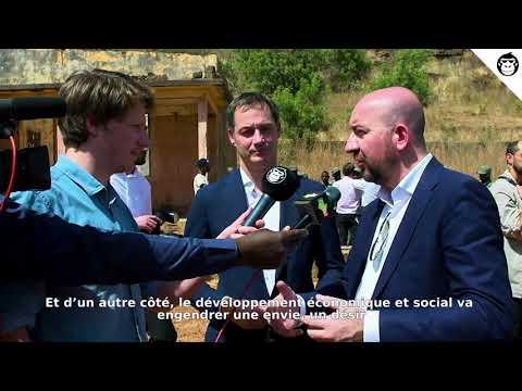 Interview avec Alexander De Croo & Charles Michel au Mali