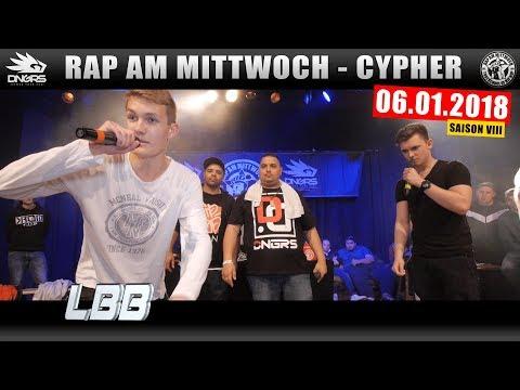 RAP AM MITTWOCH LEIPZIG: 06.01.18 Die Cypher feat. LBB, FINCH, QUAME uvm. (1/4)